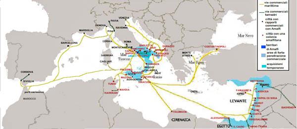 Amalfi history