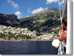 Take a cruise along the Amalfi Coast from Positano