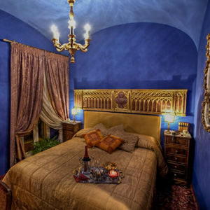 A room at the Hotel Campo de' Fiori in Rome