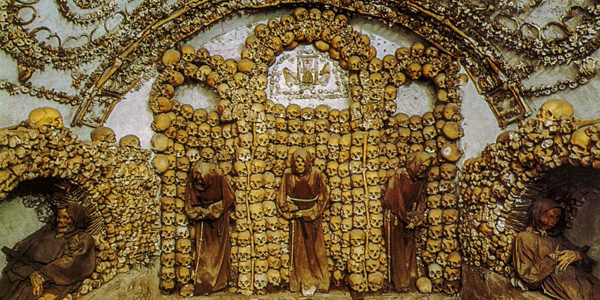 Rome's bone church