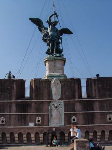 St. Michael the Archangel atop Castel Sant'Angelo, Rome