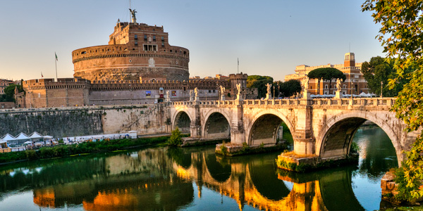 engelsborg i rom