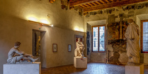 The Sala dell'Ares Ludovisi in the Museo Nazionale Romano's Palazzo Altemps branch