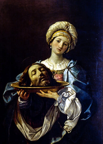 Guido Reni's Salome with the Head of John the Baptist (1630–35) in the Galleria Nazionale d'Arte Antica - Palazzo Corsini, Rome