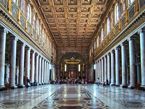Santa Maria Maggiore, interiør
