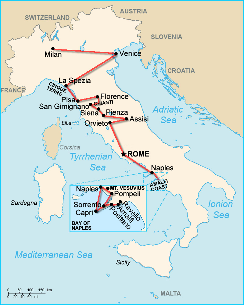 italy week itinerary with tuscany map. italy itinerary  weeks tuscany  cinque terre edition