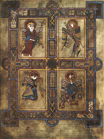 The Evangelists from the Book of Kells