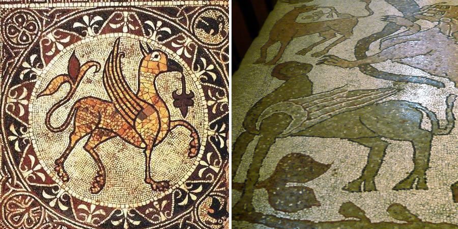 The Griffin And The Sphinx In Medieval Church Iconography