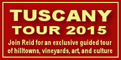 Guided tour of Tuscany