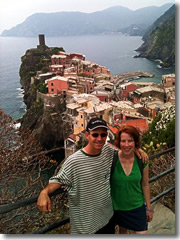 A side trip from Florence to hike the Cinque Terre coastal fishing villages.
