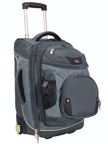 High Sierra AT3 Sierra-Lite 22-inch Wheeled Backpack with Removable Daypack