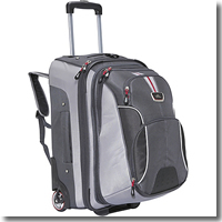 High Sierra AT6 Carry-On Wheeled Backpacks with Removable Daypack