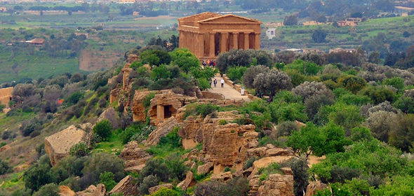 The Valley of the Temples, Agrigento