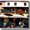 The Hotel Giovanni da Verrazzano, on the market square in Greve in Chianti, Tuscany