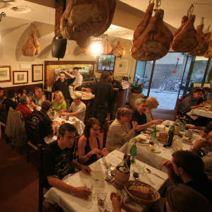Il Latini restaurant in Florence