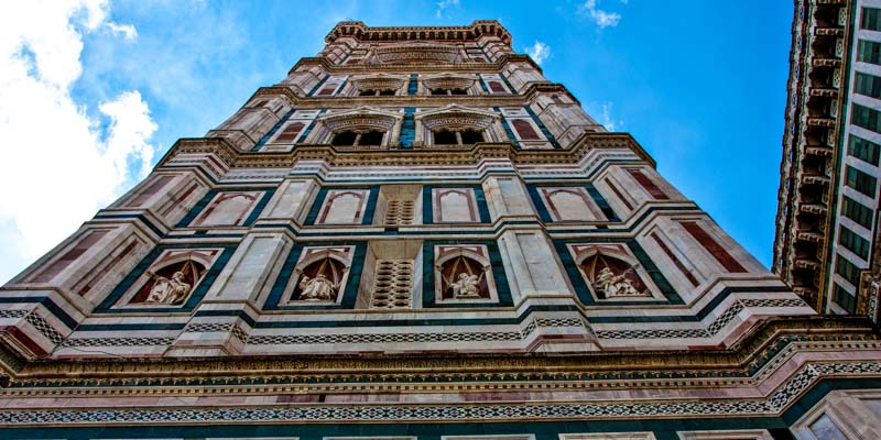 The Campanile di Giotto (Giotto's Belltower) at the Cathedral of Florence. (Photo by MojoBaron)