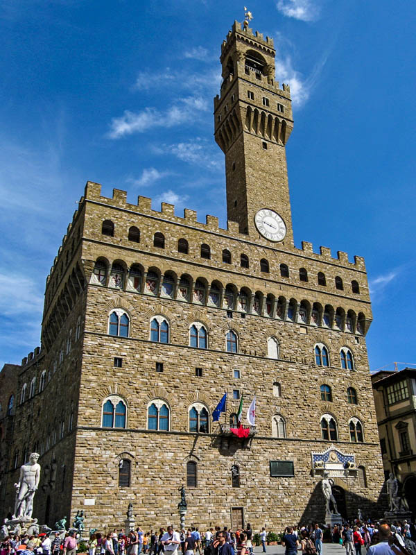 The Palazzo Vecchio in Florence. (Photo by Gryffindor)
