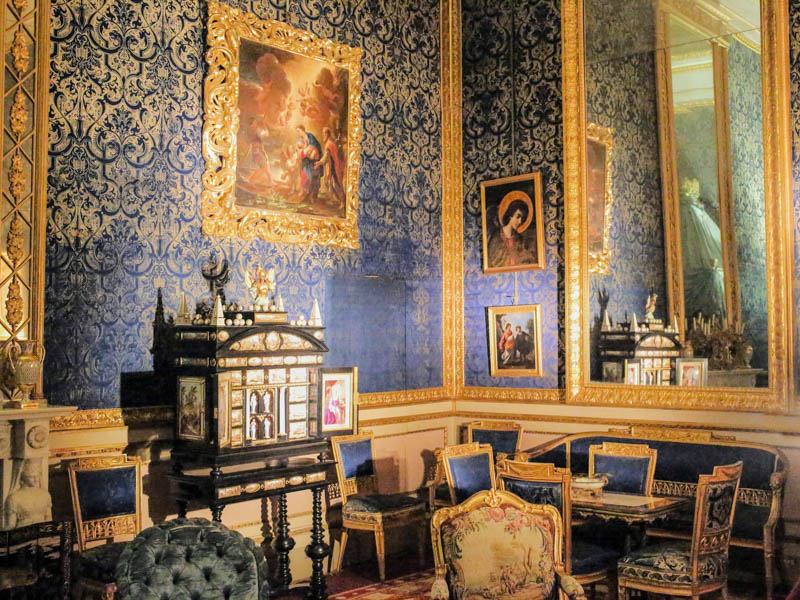 Blue Room Palazzo Pitti