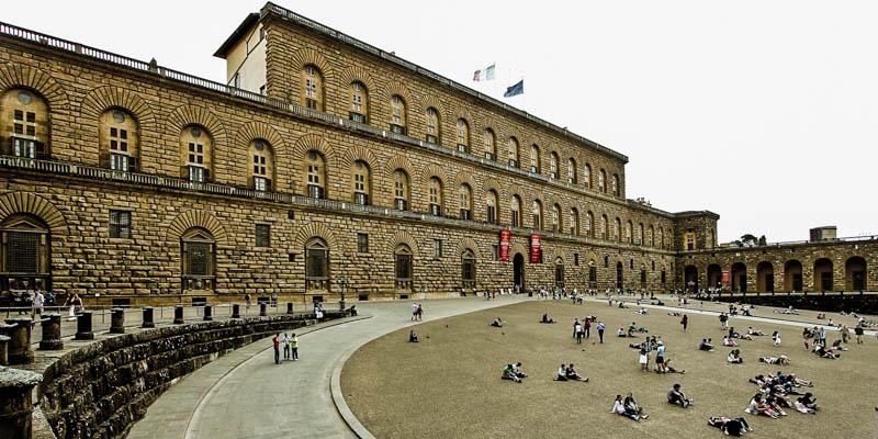 Florencja - Oltrarno - Palazzo Pitti