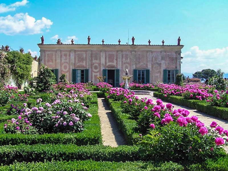 The Casino del Cavaliere, now housing the Pitti Palace's Porcelain Gallery, Boboli Gardens, Florence. (Photo by TK)