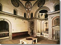 Brunelleschi Old Sacristy Vecchia  Old Sacristy  of