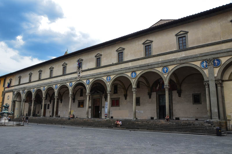 The Sepdale degli Innocenti, Florence. (Photo by Richard Mortel)