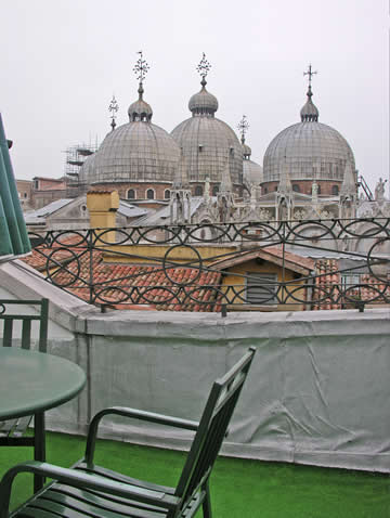 View from Hotel Ai Do Mori, Venice