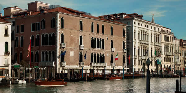 The Hotel Gritti Palace in Venice, Italy