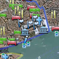 ReidsItaly.com map of Venice