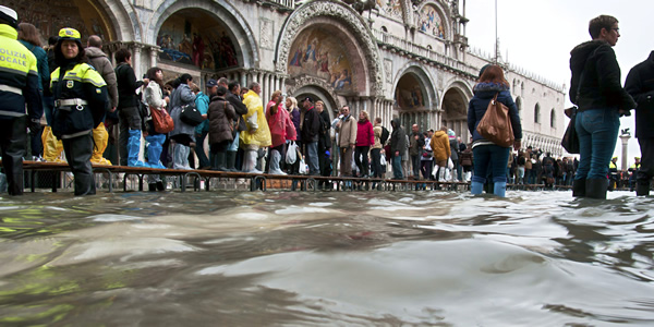 The high waters of Venice