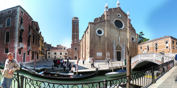 The church of Santa Maria Gloriosa dei Frari in Venice