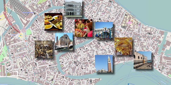Venice in 2 days – Venice Map Tourist