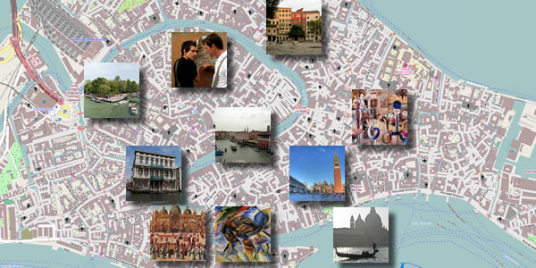 Venice in 2 days – Venice Tourist Attractions Map
