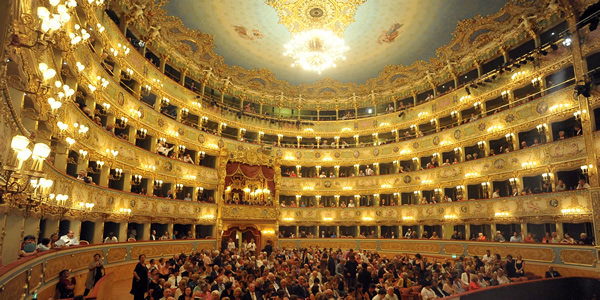 Opera Italy  city images : La Fenice opera house in Venice, Italy