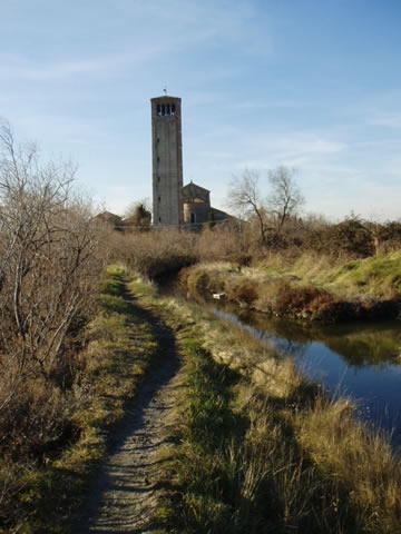 The campanile of Torcello.