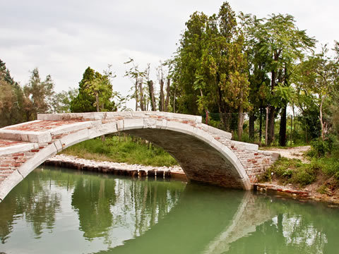 The Ponte del Diavolo on Torcello.